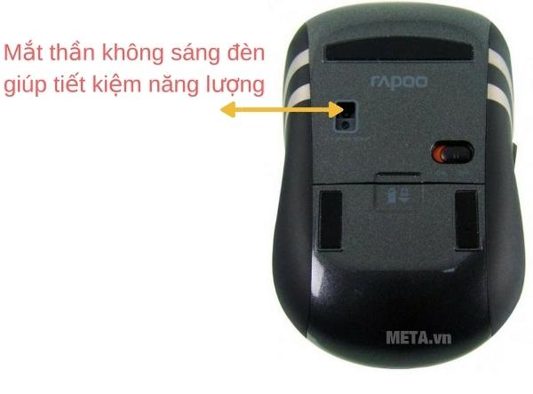Chuột không dây Rapoo 3920P ứng dụng công nghệ Laser