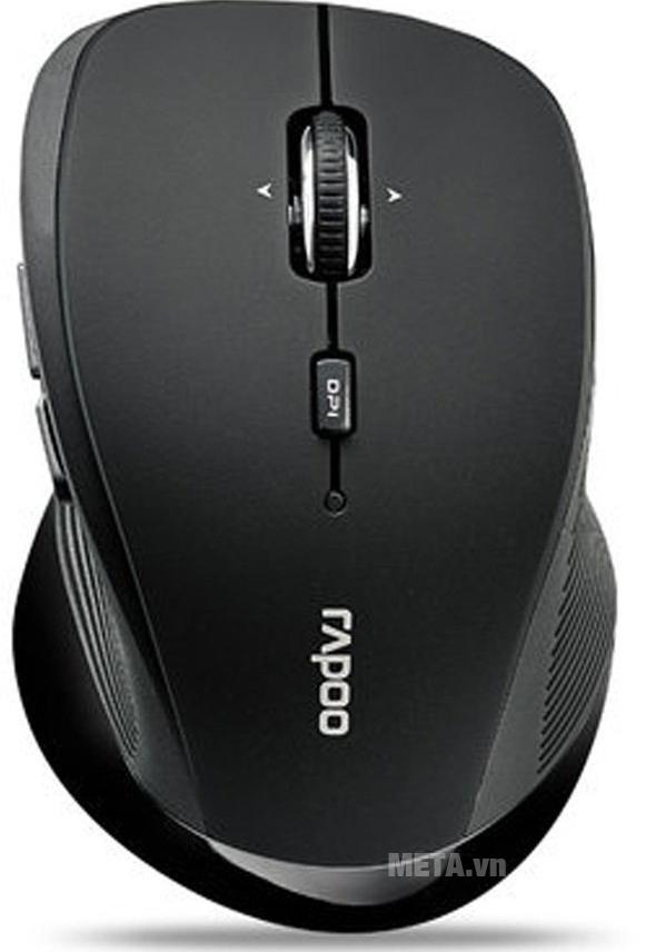 Chuột không dây Rapoo 3900P ứng dụng công nghệ Laser hiện đại