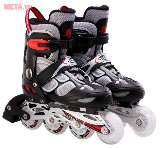 Giầy trượt patin Cougar MZS835LSG màu ghi