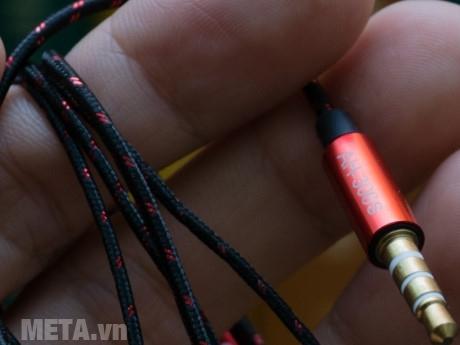 Tai nghe SoundMax AH-306S sở hữu Jack căm 3,5mm