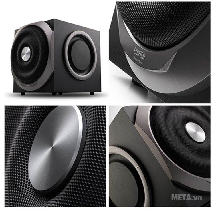Loa 5.1 Edifier S550 Encore mang đến âm thanh chân thực