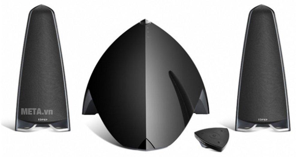 Loa Bluetooth 2.1 Edifier E3360 có thiết kế hiện đại