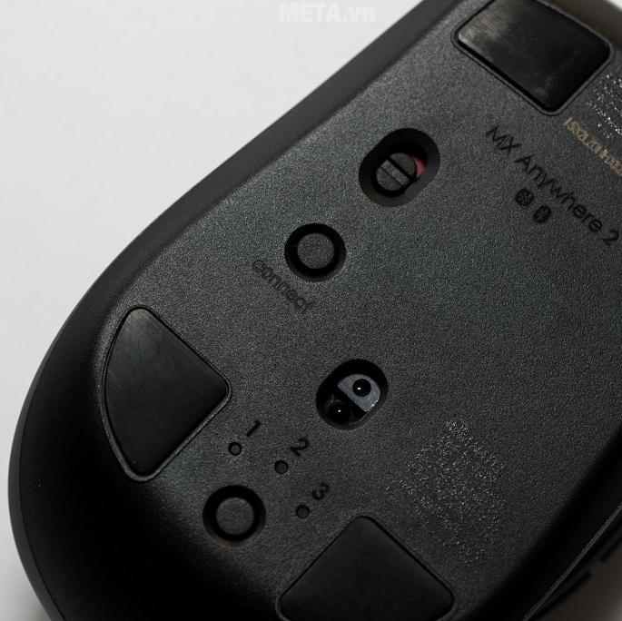 Chuột Wireless Logitech MX2 kết nối Bluetooth với 3 thiết bị