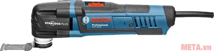 Máy cắt đa năng Bosch GOP 30-28 hoạt động với công suất 300W