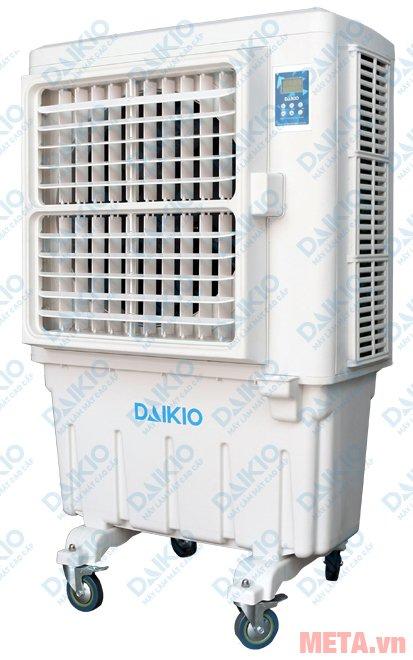 Máy làm mát không khí Daikio DK-9000A có thân máy bằng nhựa ABS
