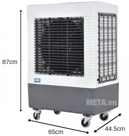Máy làm mát không khí Mitsuta MST-4000 có 4 bánh xe di chuyển