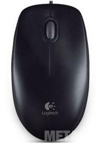 Chuột quang có dây Logitech M100R di chuyển nhanh nhạy