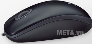 Chuột quang có dây Logitech M100R cầm nắm mà không sợ đau tay