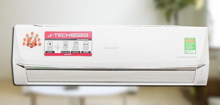 Điều hòa Sharp Inverter 1.5 HP AH-X12UEW phù hợp với gian phòng 15m2 - 20m2