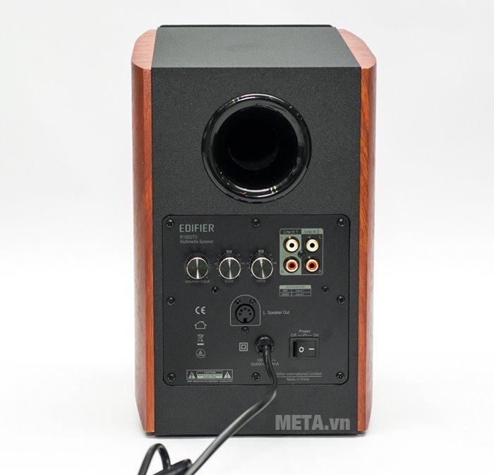 Mặt sau của loa 2.0 Edifier R1900TV bên phải