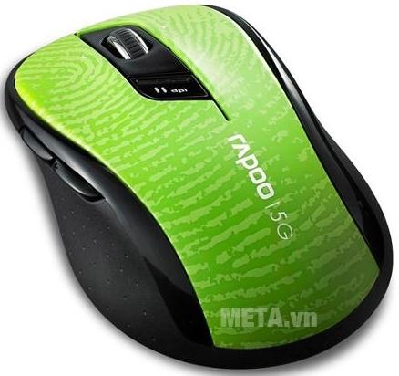 Chuột không dây Rapoo 7100P màu xanh lá