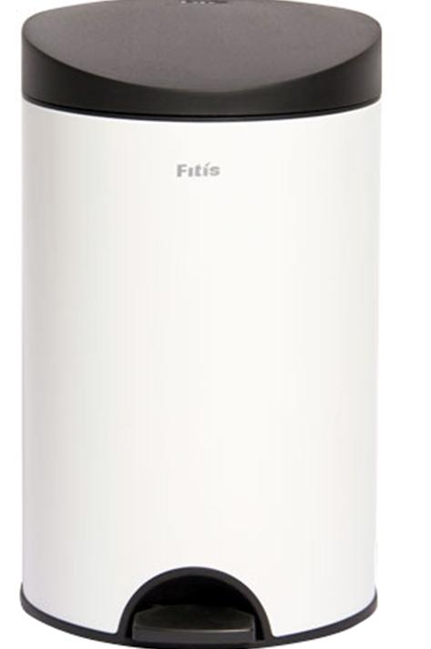 Thùng rác Inox đạp tròn nhỏ Fitis RPS1-904 phù hợp chứa rác size nhỏ