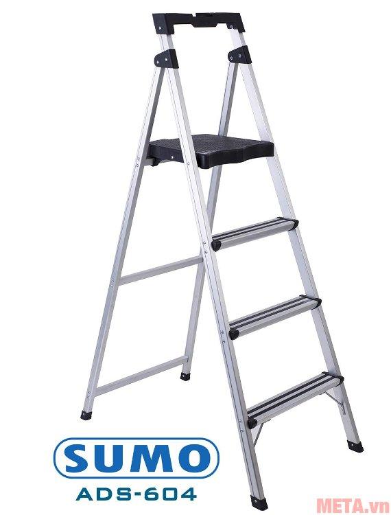 Thang ghế 4 bậc Sumo ADS-604 sản xuất theo công nghệ Nhật Bản