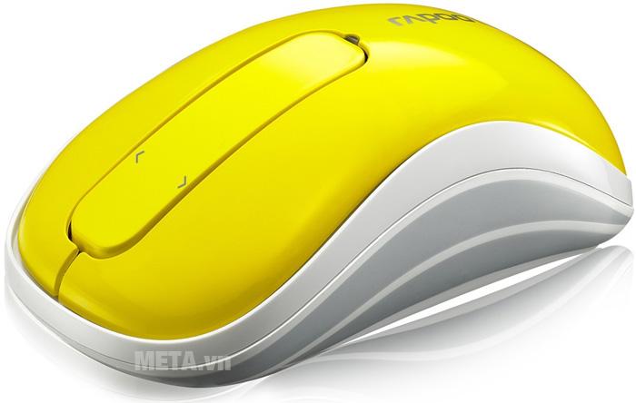 Chuột được làm từ chất liệu cao cấp, sáng bóng