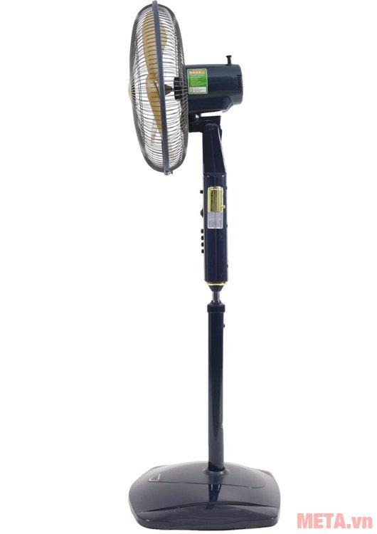 Quạt đứng Panasonic F-407WGO có túp năng điều chỉnh hướng quạt