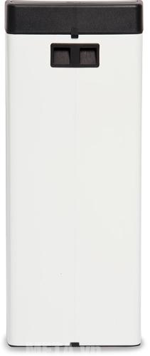 Thùng rác Inox nhấn vuông Fitis STL1-904 thiết kế sang trọng