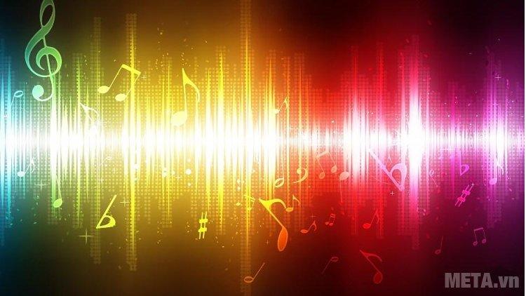 Bộ lọc tiên tiến có dải tần số lên đến 20kHz của tai nghe Microlab sẽ đem lại chất lượng âm thanh chân thực và sống động