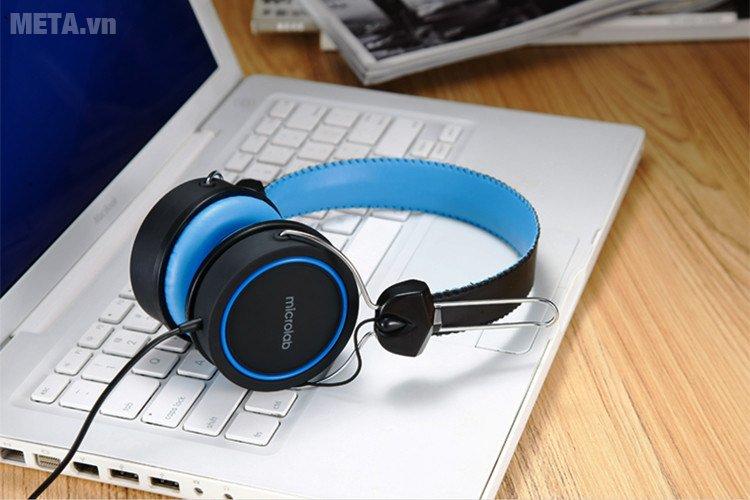 Tai nghe Microlab K300 dùng được với laptop