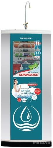 Máy lọc nước R.O Sunhouse SHR8839K lọc sạch mọi bụi khuẩn, cung cấp dưỡng chất