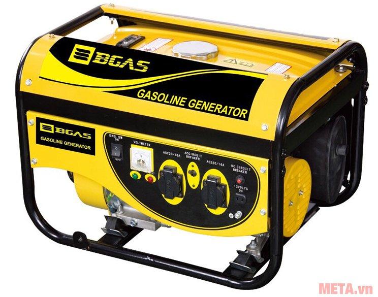 Máy phát điện chạy xăng Bgas BGA2500G độ ồn thấp