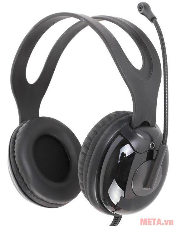Tai nghe Microlab K280 có gam màu đen cá tính