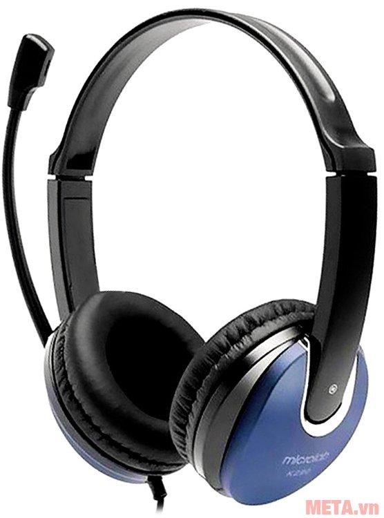 Tai nghe Microlab K290 có chuẩn kết nối 3.5mm
