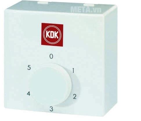 Quạt trần KDK N56YG (3 cánh - 5 tốc độ) sử dụng hộp số điều chỉnh