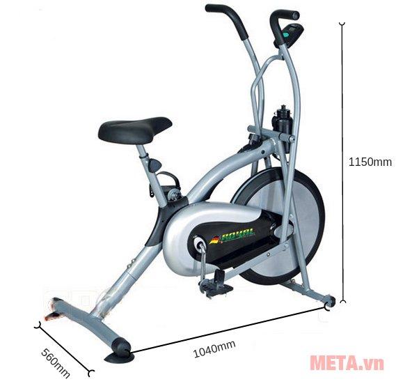 Kích thước của xe đạp liên hoàn Royal-54 là 1020x600x1150mmKích thước của xe đạp liên hoàn Royal-54 là 1020x600x1150mm