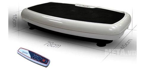 Máy massage toàn thân Buheung MK-420 đa năng kích thước nhỏ gọn đi kèm điều khiển