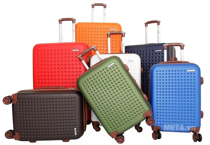 Vali du lịch cao cấp Trip P803A - size 60 thiết kế độc đáo