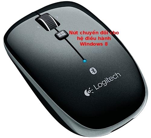 Chuột Bluetooth Logitech M557 chuyên dụng cho laptop sử dụng windows 8