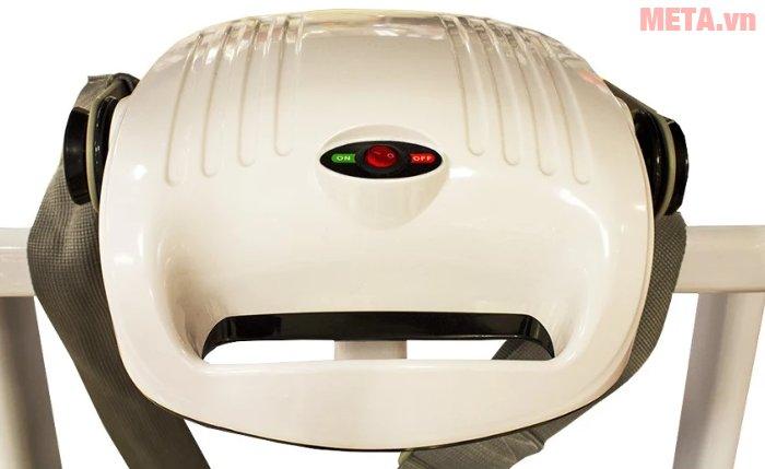 Đầu massage của máy chạy bộ điện Buheung MK-222