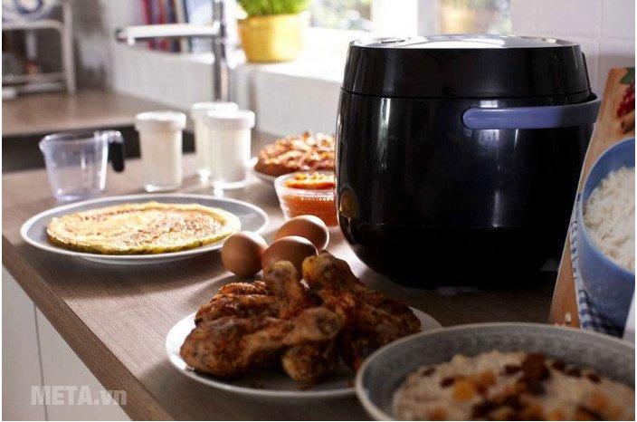 Nồi cơm điện tử Philips HD3060 giúp bạn có những bữa ăn ngon