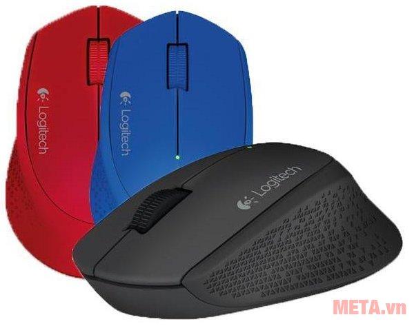 Bộ chuột quang không dây Logitech M331 với nhiều màu sắc trẻ trung, năng động