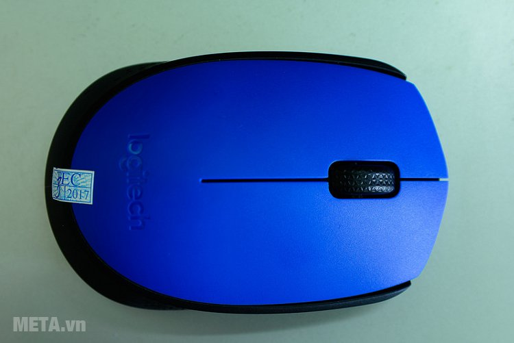 Chuột quang không dây Logitech M171 màu xanh dương tươi mát Chuột quang không dây Logitech M171 màu xanh dương tươi mát