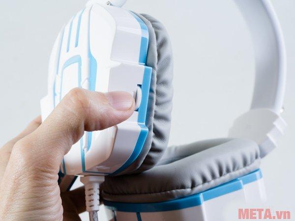 Tai nghe SoundMax AH-316 điều chỉnh âm lượng dễ dàng