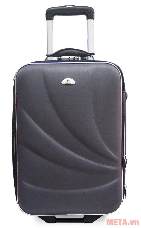 Vali kéo du lịch VLT003K 20 inch có khóa kéo 2 chiều chắc chắn