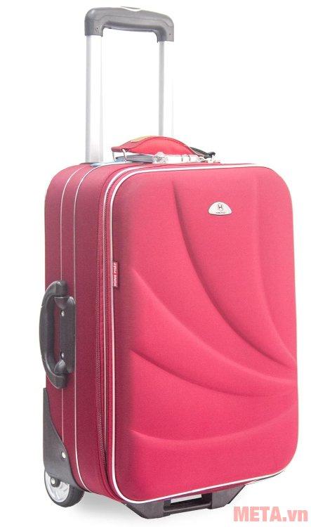 Vali thường 2 bánh VLT003K 24 inch có quai xách bằng nhựa chắc chắn