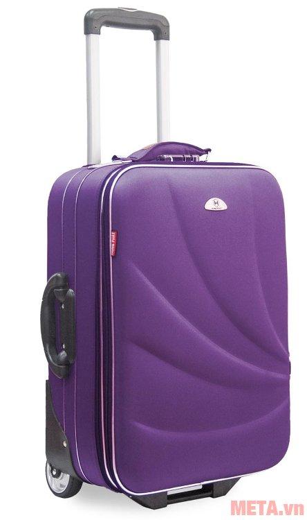 Vali thường 2 bánh VLT003K 24 inch màu tím