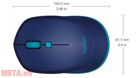 Kích thước của chuột không dây