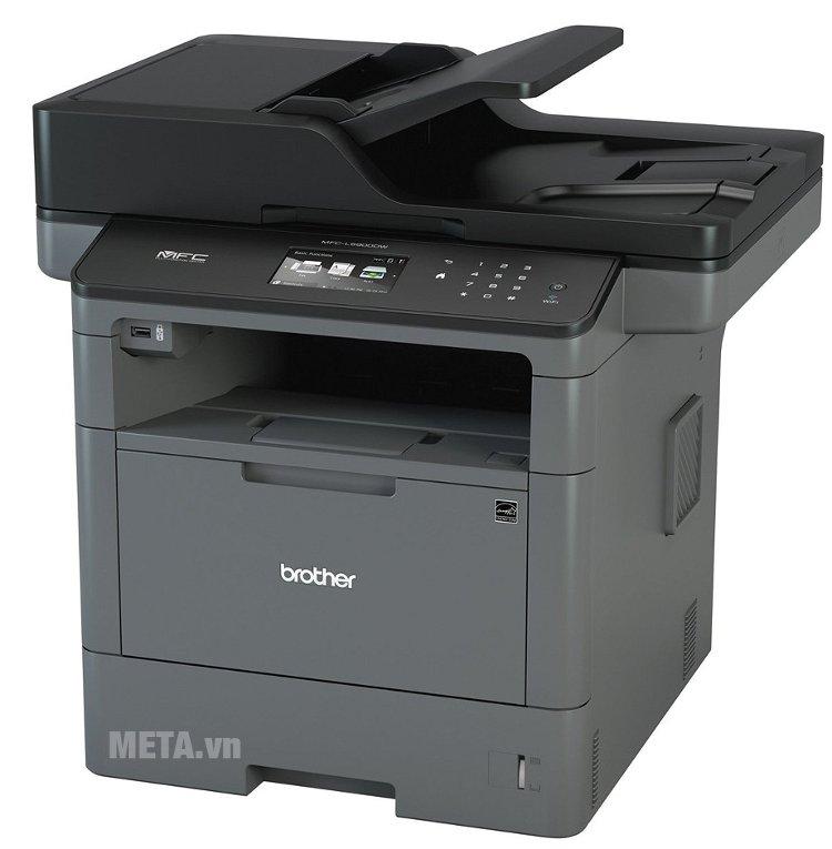 Máy in đa năng Brother MFC-L5900DW có khay nạp giấy lên đến 250 tờ