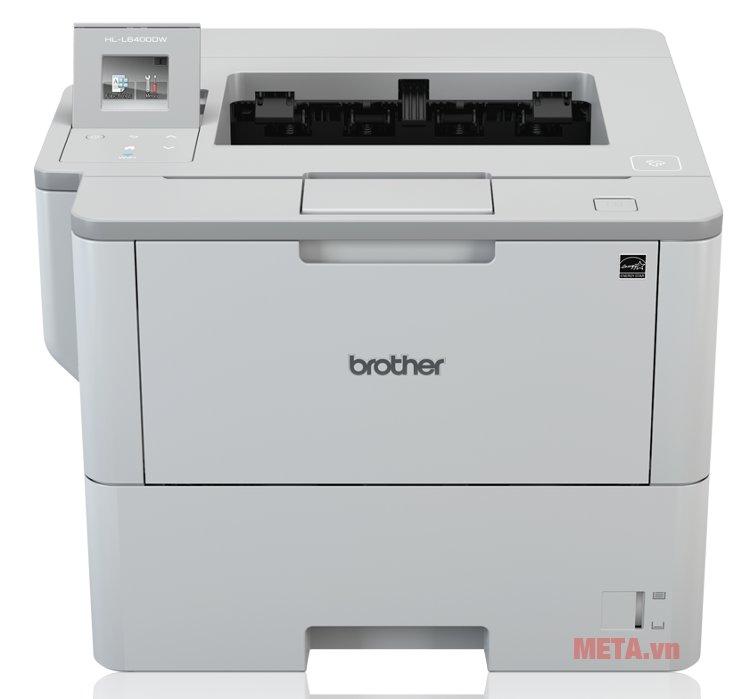 Máy in laser Brother HL-L6400DW in được mạng không dây