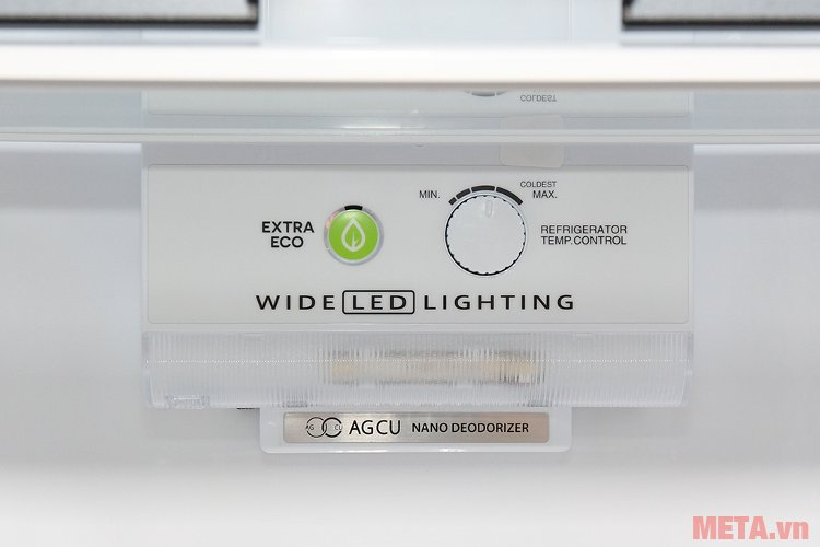 Tủ lạnh Sharp inverter SJ-X346E-DS có chế độ Extra Eco tiết kiệm điện