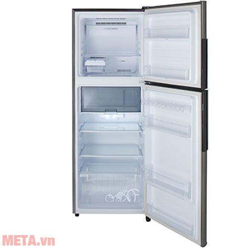 Tủ lạnh Sharp inverter SJ-X346E-SL có 2 cánh