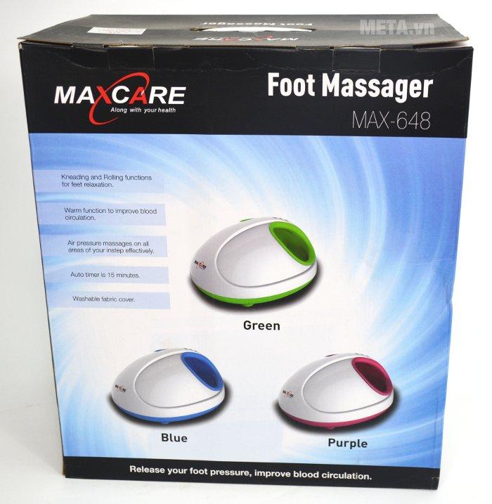 Máy massage chân đa năng Max-648 với bao bì chắc chắn