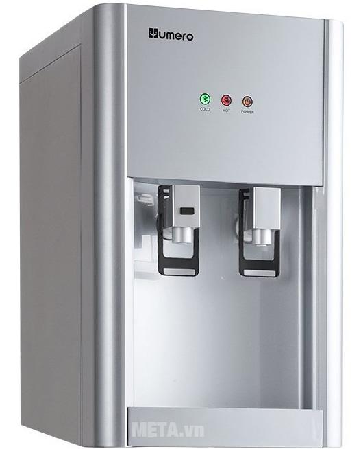 Máy có 2 vòi nước nóng lạnh đem đến sự tiện lợi cho người sử dụng