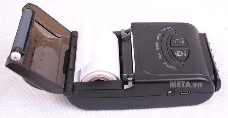 Máy in hóa đơn di động Zonerich AB-320M sử dụng khổ giấy in 58mm