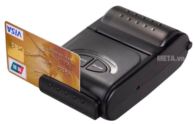 Máy in hóa đơn di động Zonerich AB-320M có tính năng MRS - thanh toán bằng thẻ