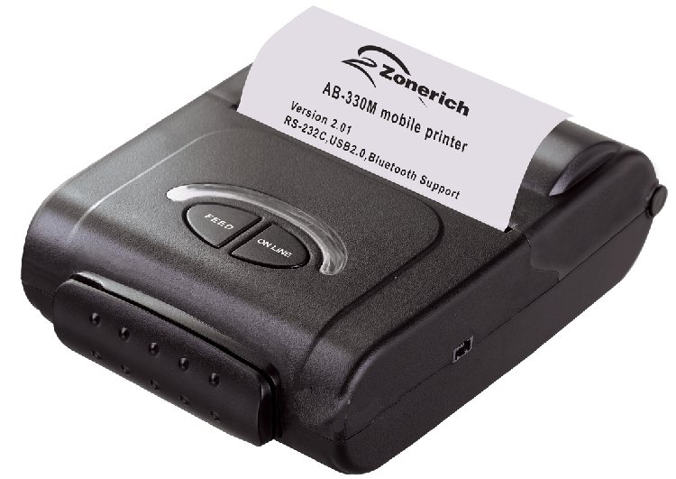 Máy in hóa đơn di động Zonerich AB-330M cho chất lượng bản in sắc nét