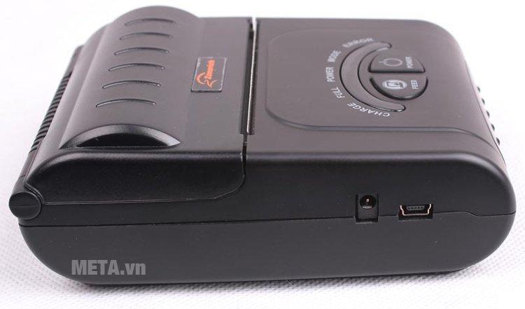 Máy in hóa đơn di động Zonerich AB-330M có thể kết nối không dây Bluetooth